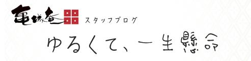 亀城庵スタッフブログ