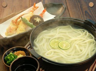 海鮮天ぷら釜上うどん