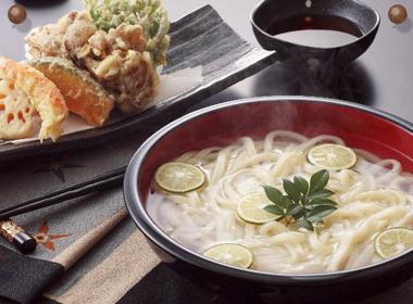 讃岐うどんの亀城庵公認レシピ 天ぷら釜上げうどん