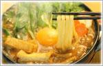 讃岐うどんの鍋レシピ 味噌煮込みうどん