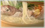 讃岐うどん鍋レシピ 鯛の海鮮寄せ鍋うどん