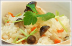 讃岐うどんの風変わりレシピ 余った麺つゆで、炊き込みごはん
