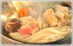 讃岐うどん鍋レシピ 地鶏鍋うどん