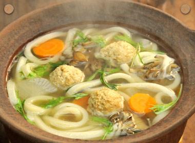 讃岐うどんの亀城庵公認レシピ うどんで食べる塩鍋