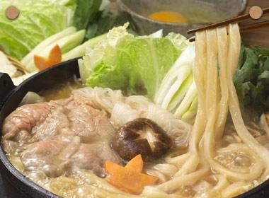 讃岐うどんの亀城庵公認レシピ すき焼き