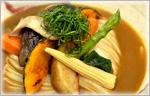 讃岐うどんのヒンヤリレシピ 野菜たっぷり冷やしカレーうどん