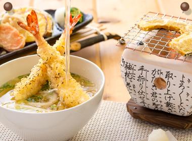 炙り天ぷらうどん