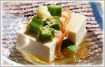 余った麺つゆで、冷やしあんかけ豆腐