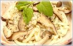 讃岐うどん洋風レシピ きのこいっぱいの炒めうどん