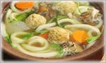 讃岐うどんの鍋レシピ うどんで食べる塩鍋