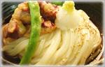 讃岐うどんのひんやりレシピ たこの天ぷらぶっかけ