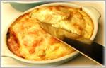 讃岐うどんの鍋レシピ うどんキッシュ