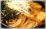 讃岐うどんの野菜たっぷりレシピ 揚げもちとなめこのかけうどん