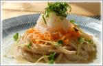 讃岐うどんの野菜たっぷりレシピ 全粒粉サラダぶっかけうどん