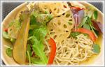 チップス野菜のラーメンサラダ