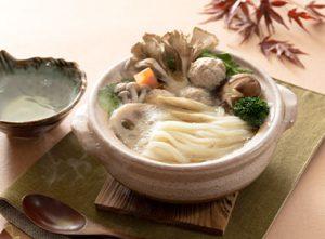 根菜と鶏つくねの麹鍋